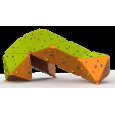 Βράχος Αναρρίχησης διαστάσεων  5.5*3.9*2.7 - επιφάνεια αναρρίχησης 52 τ.μ.
