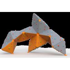 Βράχος Αναρρίχησης διαστάσεων  5.7*3.8*4.3 - επιφάνεια αναρρίχησης 48 τ.μ.