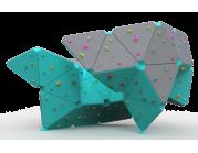 Βράχος Αναρρίχησης διαστάσεων  5.3*5.2*3.2 - επιφάνεια αναρρίχησης 76 τ.μ.