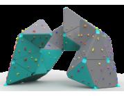 Βράχος Αναρρίχησης διαστάσεων  5.3*5.2*3.9 - επιφάνεια αναρρίχησης 71 τ.μ.